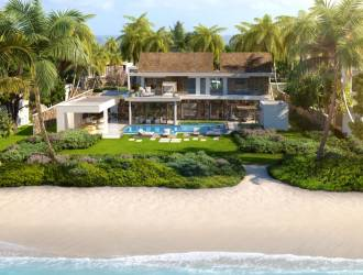 Luxurious 2 bedrooms PDS Villas Project in a beachfront Complex for sale in Belle Mare - Mauritius managed by a 5 star hotel