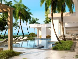 Luxurious 3 bedrooms PDS Villas Project in a beachfront Complex for sale in Belle Mare - Mauritius managed by a 5 star hotel