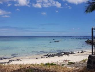 Beachfront land for sale in Albion of 36 perches.  Excellent opportunity to buy a freehold on the beach.