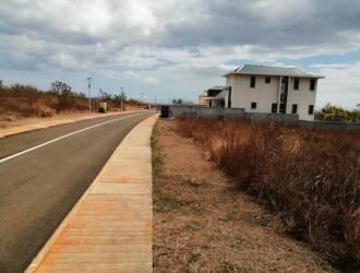 Terrain résidentiel à vendre à Flic en Flac situé dans une résidence cloturé