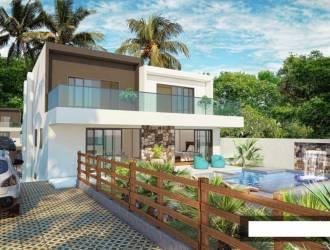 Villa neuve a vendre a Mon Mascale Cap M<alheureux de 3 chambres