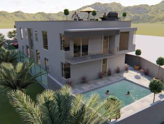 Apartment for sale in Morcellement Green Creek Flic en Flac with panoramic view